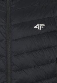 4F - Men's insulated jacket - Training jacket - black - 2