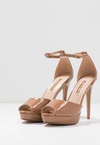 Dorothy Perkins - SORBET PLATFORM - Sandaler med høye hæler - nude - 4
