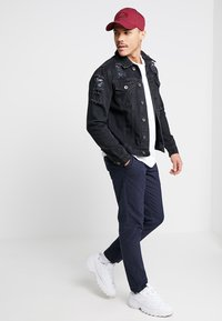 Redefined Rebel - JASON JACKET - Giacca di jeans - lava stone - 1