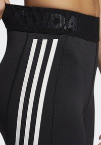 adidas Performance - TECHFIT STRIPES LONG - Medias - black/white - 4