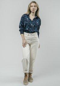 Brava Fabrics - HANA BLOOM - Button-down blouse - blue - 1