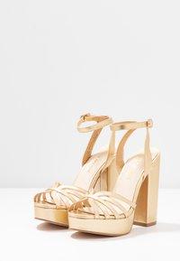 Vero Moda - VMTHEA - High heeled sandals - pale gold - 4