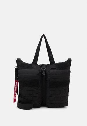 TACTICAL HELMET BAG UNISEX - Velká kabelka - black