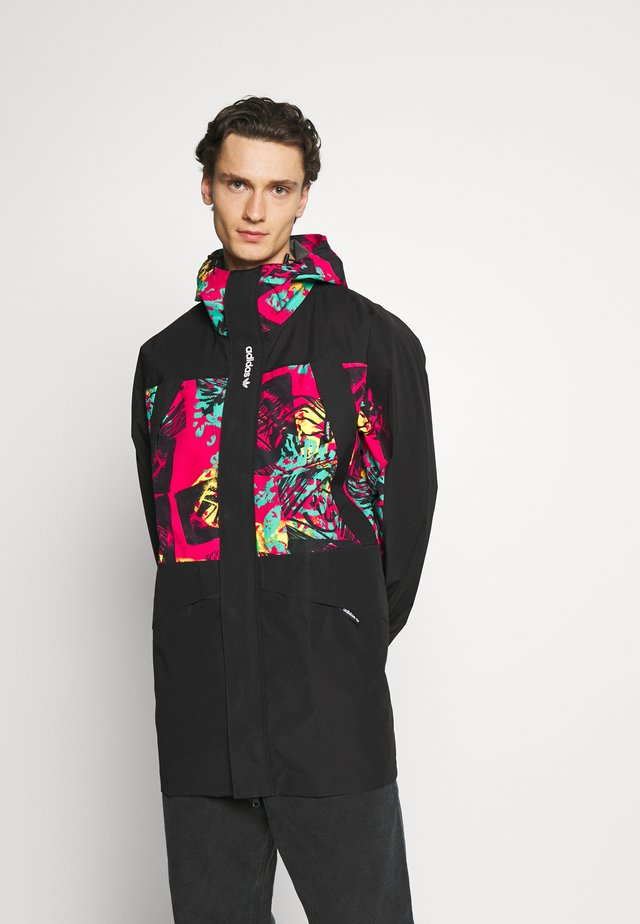 GORETEX - Summer jacket - black/multicolor