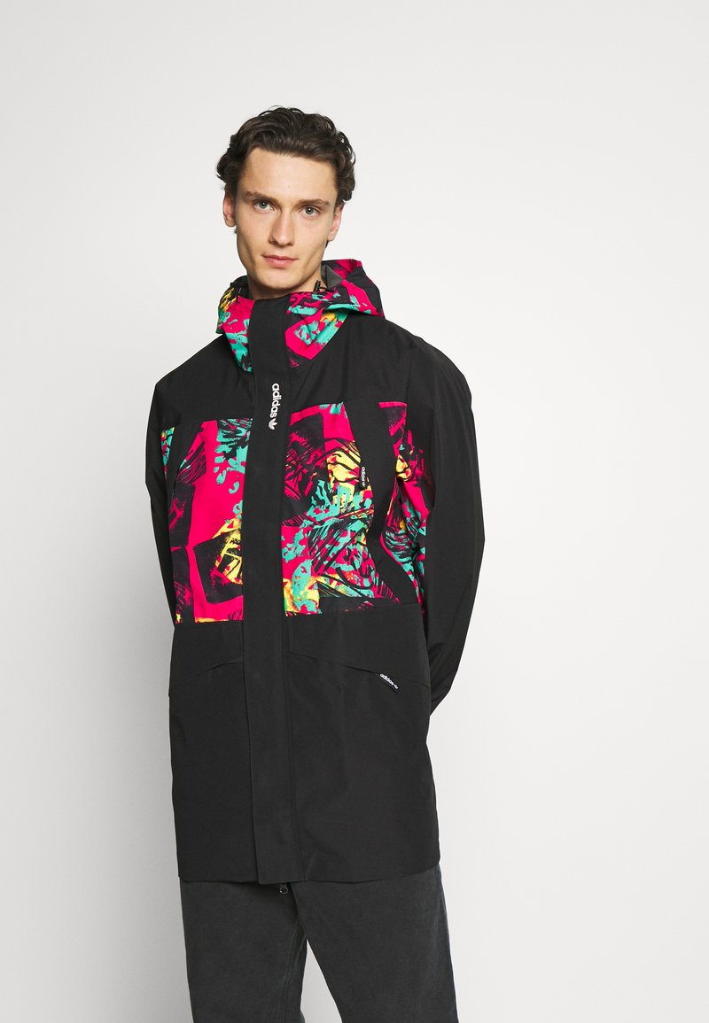 adidas Originals - GORETEX - Summer jacket - black/multicolor