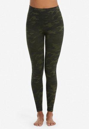 Leggings - Stockings - green camo
