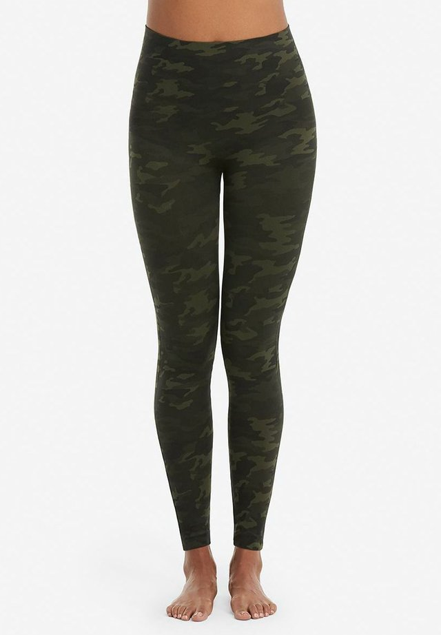 Leggings - green camo