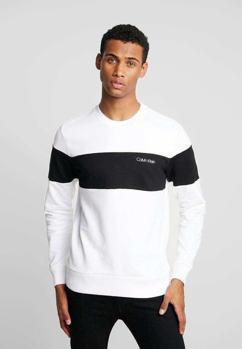 Calvin Klein - LOGO - Sweatshirt - white
