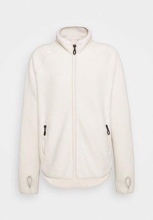 Fleecová bunda - offwhite