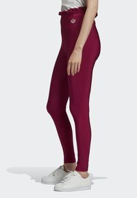 adidas Originals - BELLISTA SPORTS INSPIRED SLIM TIGHTS - Leggings - Trousers - power berry - 3