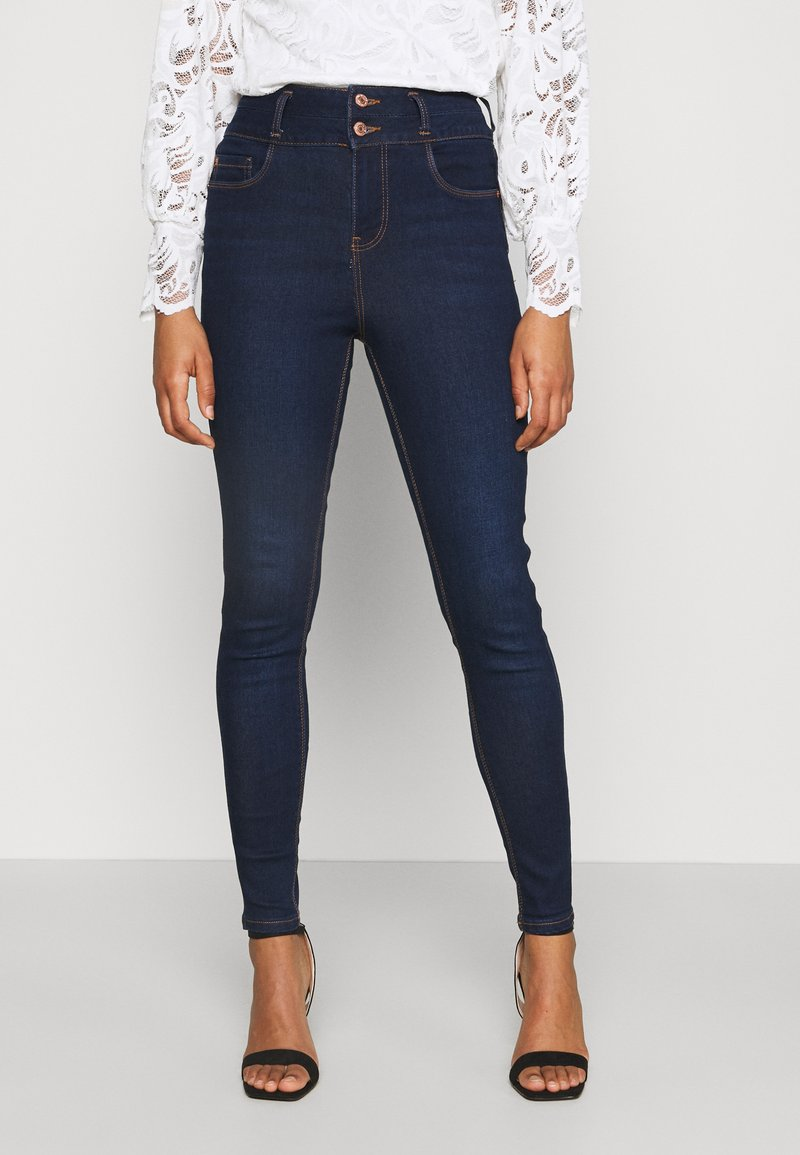 New Look - LIFT AND SHAPE HIGHWAIST - Jeans Skinny Fit - blue