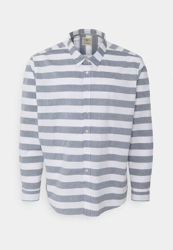 BOLD STRIPE SHIRT - Shirt - navy/white