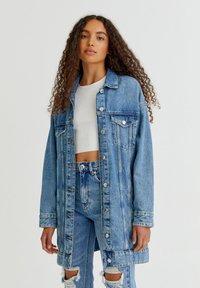 PULL&BEAR - Veste en jean - blue - 7
