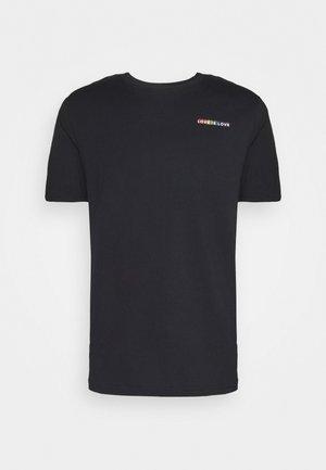 PRIDE - T-shirt con stampa - black
