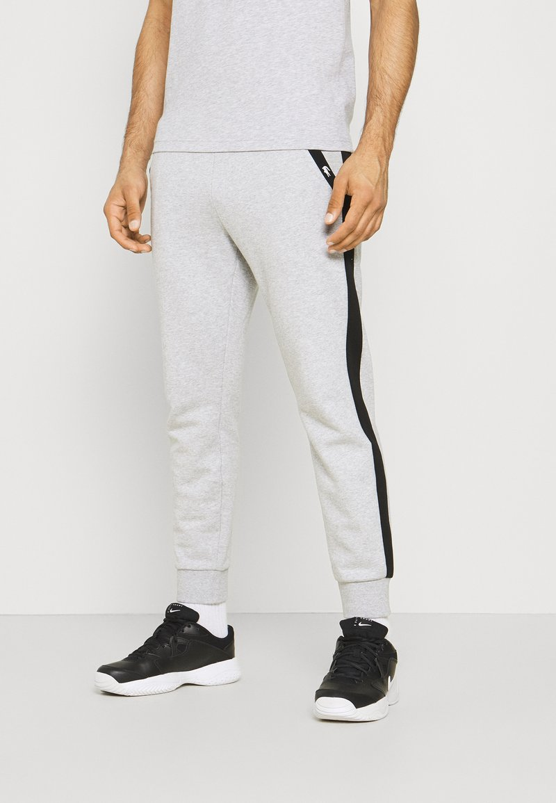 Lacoste Sport - PANT TAPERED - Tracksuit bottoms - silver chine/black