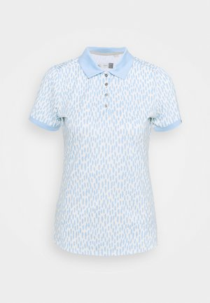 WOMEN ENYA - Sports shirt - buttercream/cloud blue