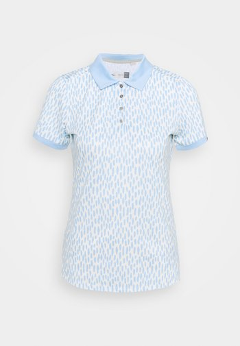 WOMEN ENYA - Sports shirt - buttercream/cloud blue