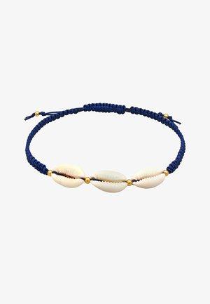 Enkelbandjes - dunkelblau