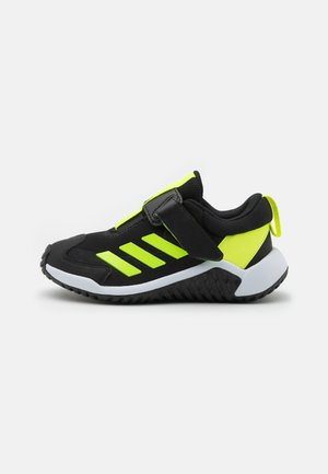 4UTURE SPORT AC UNISEX - Neutral running shoes - core black/solar yellow/footwear white