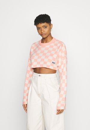 WIPEOUT - Trui - pink/beige