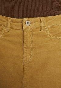 edc by Esprit - SKIRT - A-line skirt - amber yellow - 5
