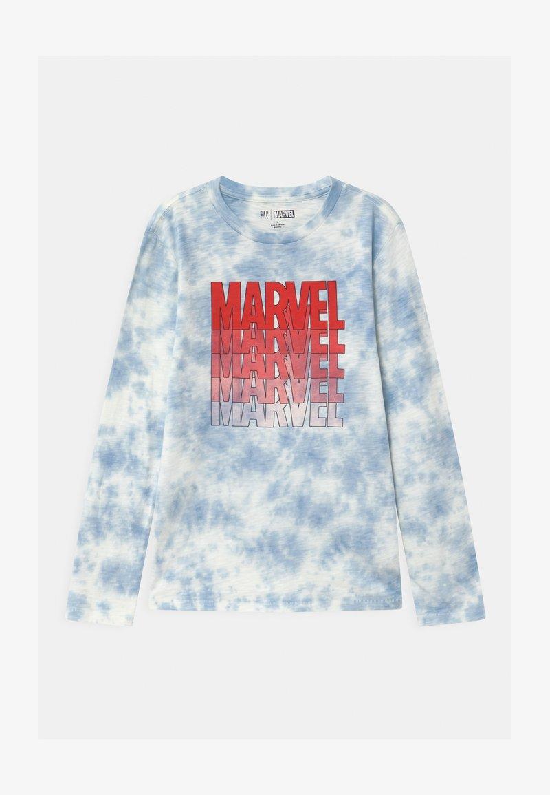GAP - BOY MARVEL - Long sleeved top - blue