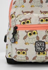 pick & PACK - OWL MINI BACKPACK - Ryggsäck - light grey - 2