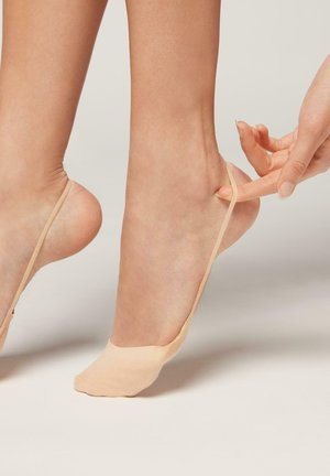 MODISCHE UNSICHTBARE - Trainer socks - sling back nudo