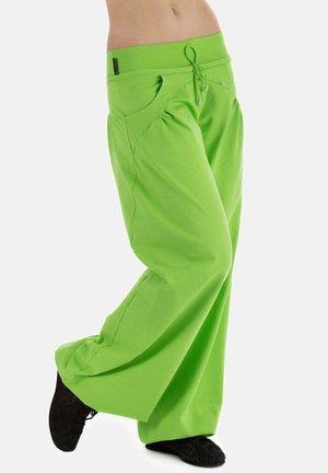 Tracksuit bottoms - apfelgrün