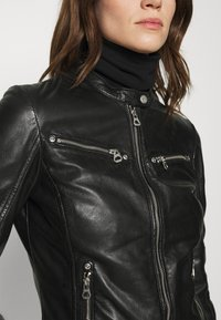 Gipsy - CHARLEE LAORV - Leather jacket - black - 5