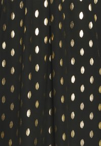 Evans - GOLD FOIL COVERED BUTTON - Bluser - black