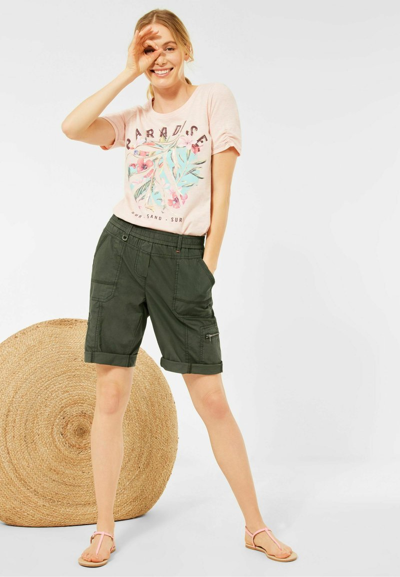 Cecil - Shorts - utility olive