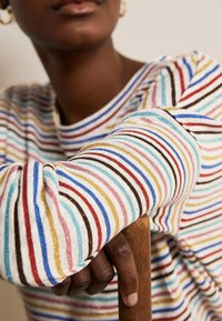 Boden - OTTILIE  - Long sleeved top - bunt/metallic regenbogenfarbene streifen - 2