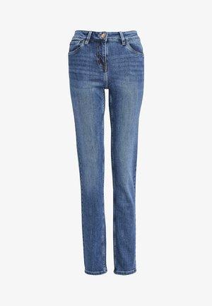 PETITE - Slim fit jeans - mottled blue