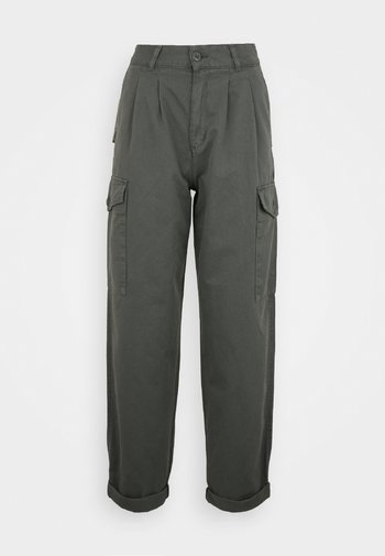 COLLINS PANT - Cargo trousers - thyme