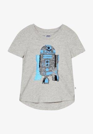 GIRL - T-shirt z nadrukiem - grey heather