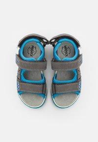 Primigi - Sandals - grigo scuro/azzurro - 3