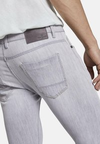 TOM TAILOR - TROY - Slim fit jeans - light stone grey denim - 5