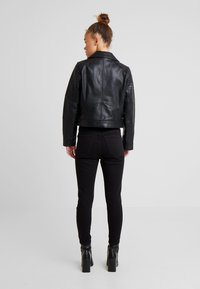 River Island Petite - CATO JACKET - Faux leather jacket - black - 2