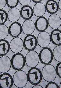 Trussardi - MAIN FOULARD ALL OVER MICRO - Foulard - light grey - 2
