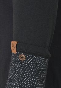 Ragwear Plus - PINCH SOLID PLUS - Top sdlouhým rukávem - black - 7