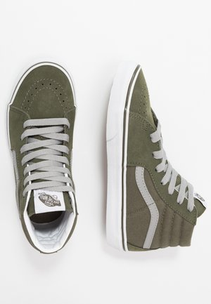SK8 - Korkeavartiset tennarit - grape leaf/drizzle