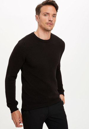 JUMPER - Strickpullover - black