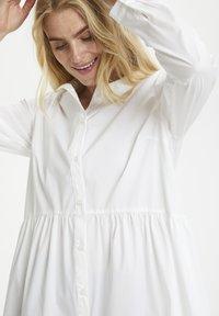 Cream - Button-down blouse - snow white - 3