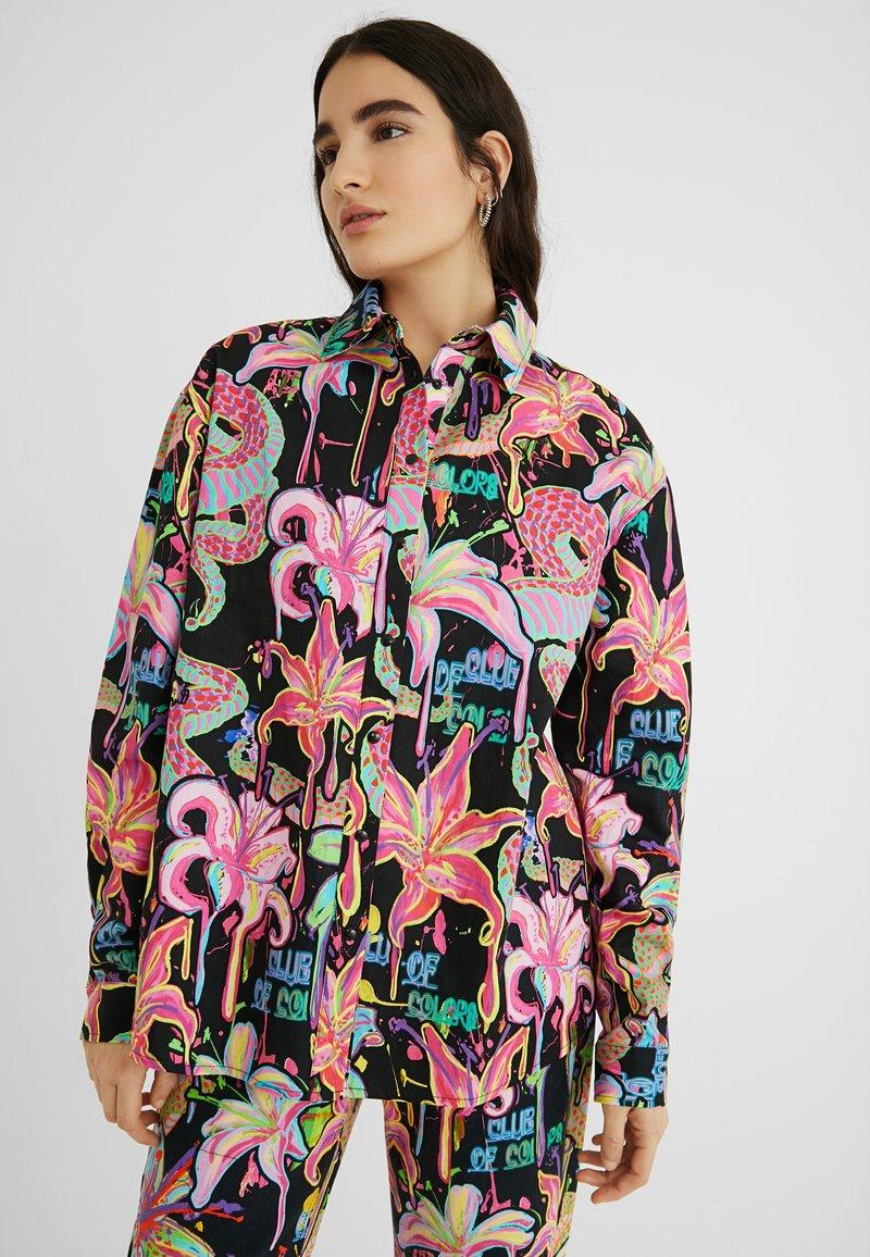 Desigual - DESIGNED BY MARIA ESCOTÉ: - Camisa - black