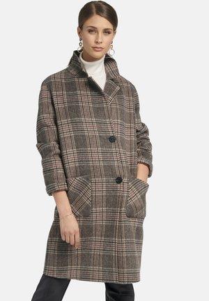 MIT KAROMUSTER - Classic coat - mehrfarbig