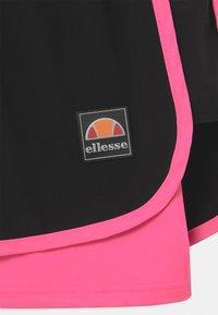 Ellesse - MAYLIA - Sports shorts - black/neon pink - 2