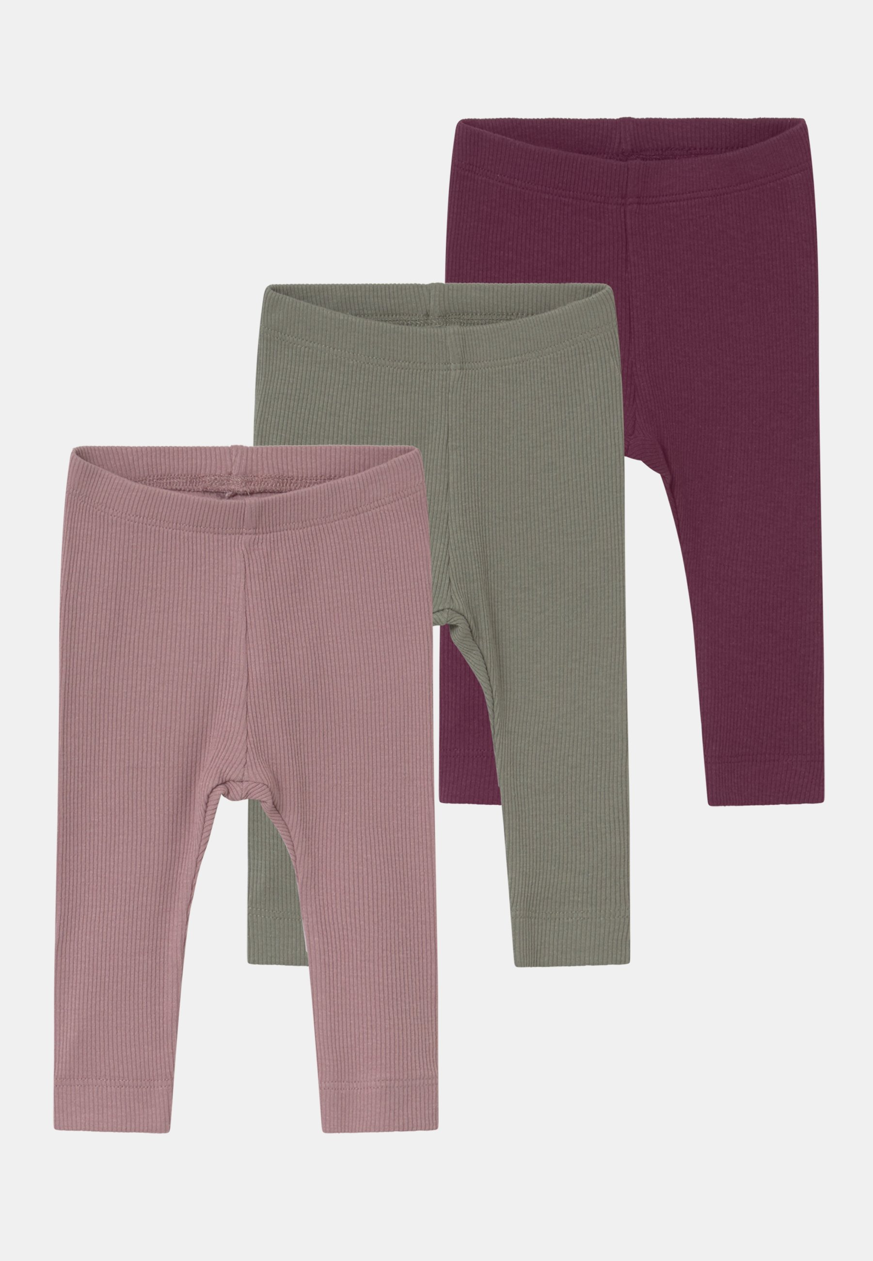 Kids NBFROSEMARIE 3 PACK - Leggings - Trousers