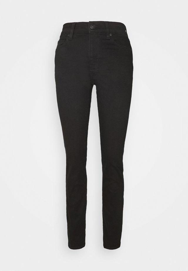 HI RISE SKINNY - Jeans Skinny Fit - bold black