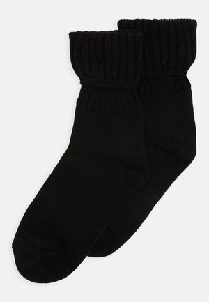 ONLINE WOMEN SOCKS 2 PACK - Strømper - black